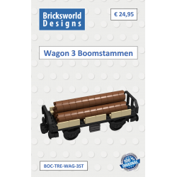 BOC-TRE-WAG-3ST Wagon incl....