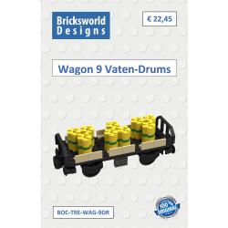 BOC-TRE-WAG-9DR Wagon incl....