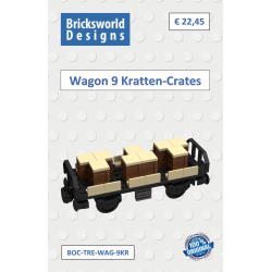 BOC-TRE-WAG-9KR Wagon incl....