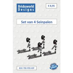 BOC-TRE-PER-SP4 Set mit 4...