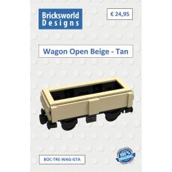 BOC-TRE-WAG-GTA Wagon mit...