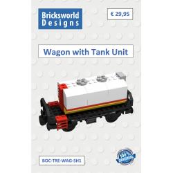 BOC-TRE-WAG-SH1 Wagon mit...