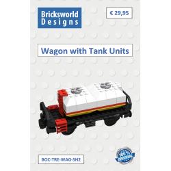 BOC-TRE-WAG-SH2 Wagon met 2...