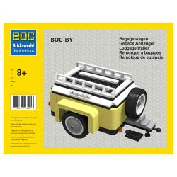 BOC-BY Gepäckwagen Gelb...