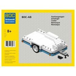 BOC-AB Anhänger Dark Azure...