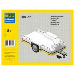 BOC-AY Aanhangwagen gele...