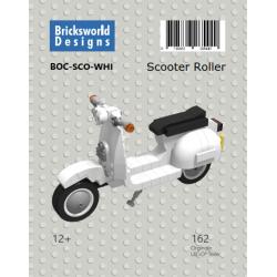 BOC-SCO-WHI BOC Scooter White