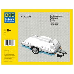 BOC-AM Anhänger Medium Azur...