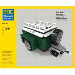 BOC-BG Bagagewagen groen...
