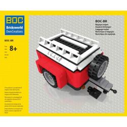 BOC-BR Gepäckwagen Rot...