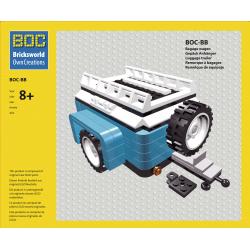 BOC-BB Bagagewagen blauw...