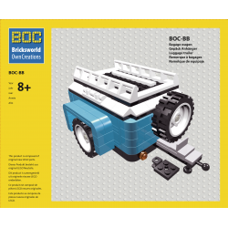 BOC-BB Luggage Trailer Blue...