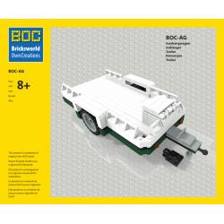 BOC-AG Aanhangwagen groen...