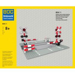 BOC-1 Bahnübergang...
