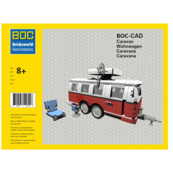 BOC-CAD Caravan Doubleaxle...
