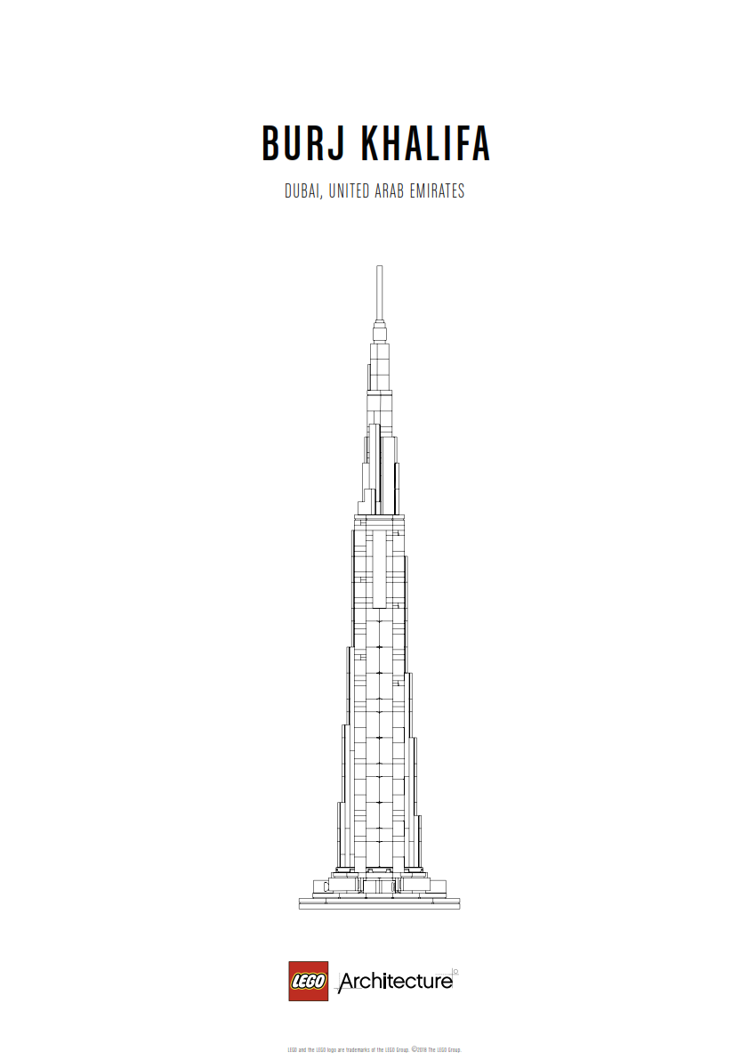 Download Poster Burj Khalifa