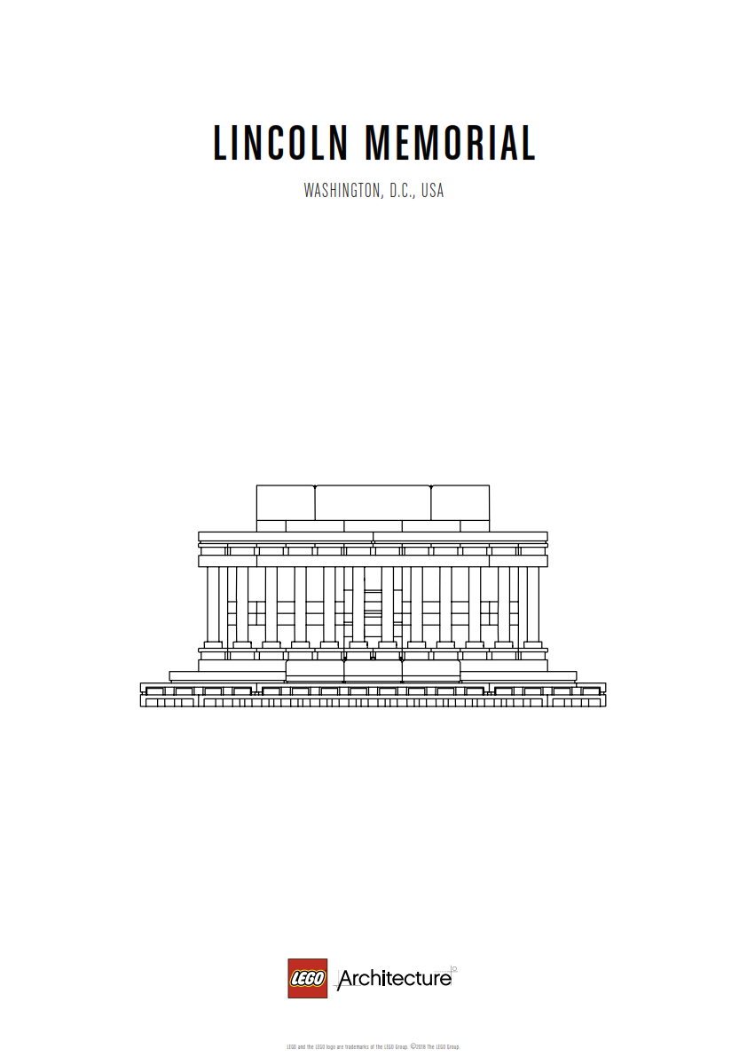 Download Poster Lincoln Memorial