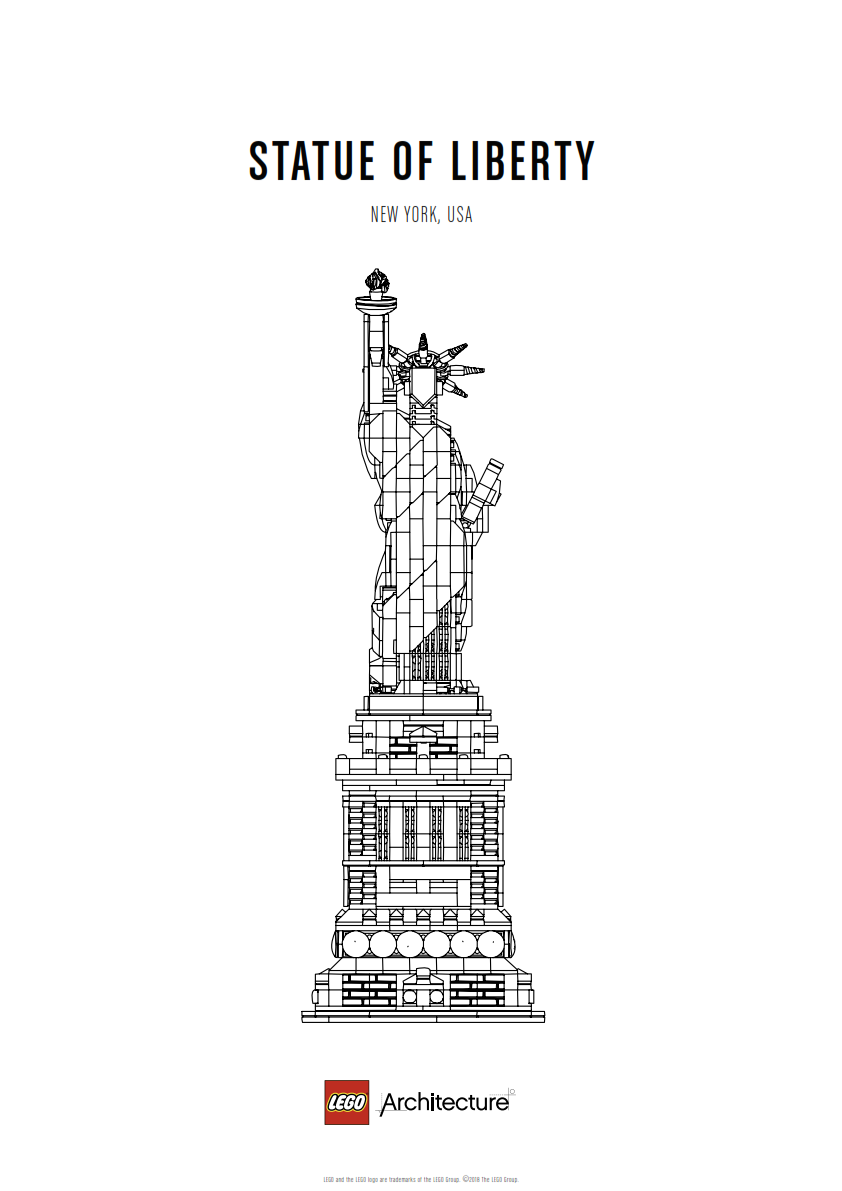 Download Poster Statue of Liberty