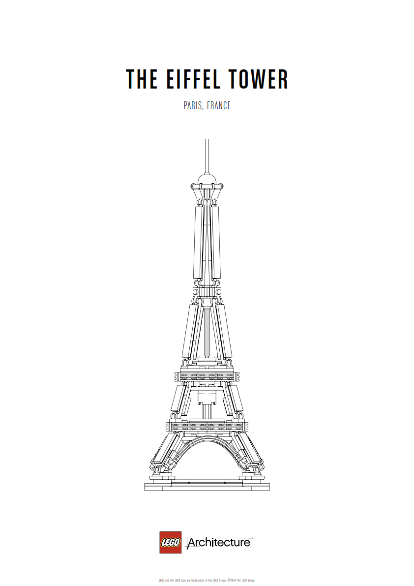 Download Poster The Eiffel Tower